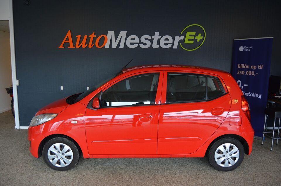 Hyundai i10 1,2 Comfort A/C Benzin modelår 2012 km 75000 Rød