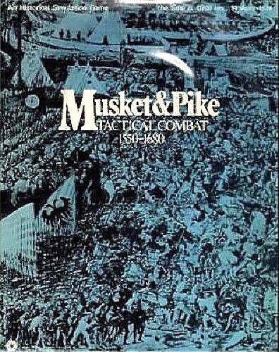 Musket & Pike Tactique Combat Guerre de 1550-1680 Board Game SPI 1973 perforée plateau