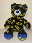 "Build A Bear Star Wars LOGO Stuffed Teddy Bear Plush 17"" W/ R2D2 Sounds"
