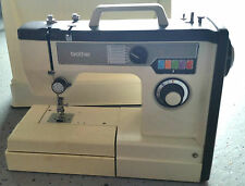 Portable Brother Sewing Machine Model VX 710 w/manual & case-Zig-Zag, Free Arm