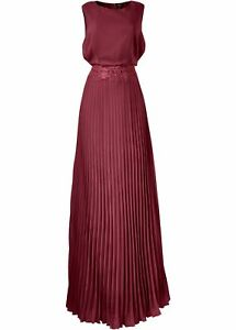 Dunkelrot Maxikleid Abendkleid Damenkeid Cocktailkleid Gr 40 Partykleid Neu AAEaw4xOqn