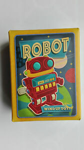WIND UP RETRO TOY MARCHING RED amp BLUE SPACE ROBOT  WIND UP CLASSIC TOY  16558 - Rotherham, United Kingdom - WIND UP RETRO TOY MARCHING RED amp BLUE SPACE ROBOT  WIND UP CLASSIC TOY  16558 - Rotherham, United Kingdom