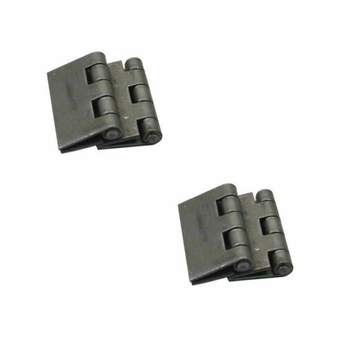 """Steel Butt Hinges 2 Pairs of Heavy Duty Weldable Butt Hinges 4/"""" x 4/"""""""
