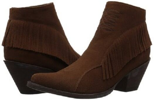 New in Box OG by Womens Old Gringo Womens by Nina Ankle Boot Brown Suede Size 9.5 472fd9