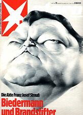 Magazin STERN  Nr 13 v 1975, Akte Franz Josef Strauß; Onassis, Lehrervorurteile