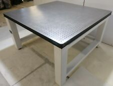 Crated Tmc 48 X 48 Optical Table Newport Rigid Bench Honeycomb Breadboard