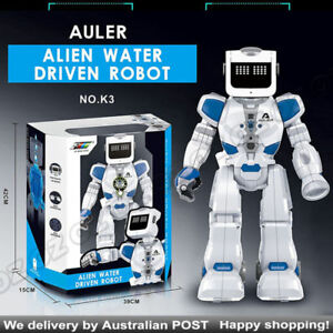 Details about Alien Water Driven RC VOICE INTERACTION Sound Control Robot  Kids Toy