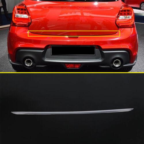 Chrome Rear Trunk Boot Tailgate Lower Cover Trim 1pcs For Suzuki Swift 2018
