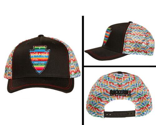 Rock /& Roll Cowgirl Serape Mesh Snapback Trucker Ball Cap CGC3711  MSRP = $25.00
