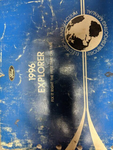 1996 Ford Explorer Electrical Vacuum Wiring Diagrams