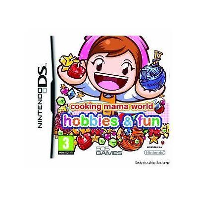 Nintendo DS DSI Lite Spiel Cooking Mama World: Hobbies, Fun-Basteln & Gestalten