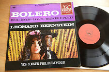 Ravel Bolero BERNSTEIN La Valse LP CBS S 61027 nm-mint
