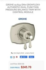 Grohflex Single Function Pressure Balance Trim With Control Module 19843BE0