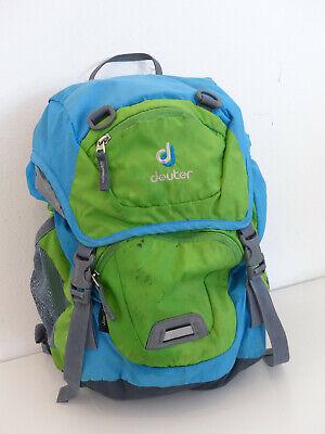 Deuter Junior Rucksack Grün Blau Gebraucht