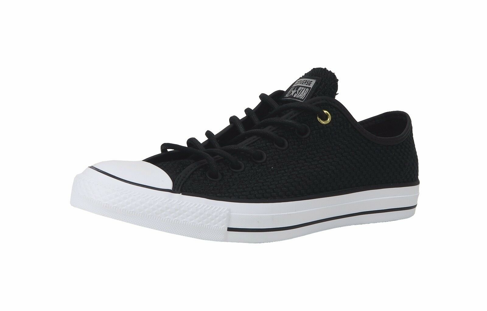 24d2219e191fb2 Converse Chuck Taylor All Star Ox Black Low Top SNEAKERS Mens 7 ...