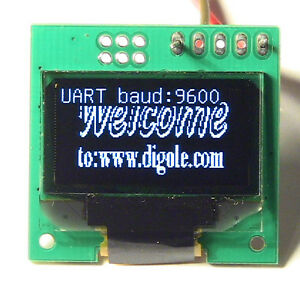 Details about Serial:UART/I2C/SPI 128x64 12864 OLED LED LCD  Module,White,for Arduino+ALL MCU