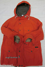 $295 POLO RALPH LAUREN ORANGE Hunting CARGO EXPEDITION JACKET COAT L Large