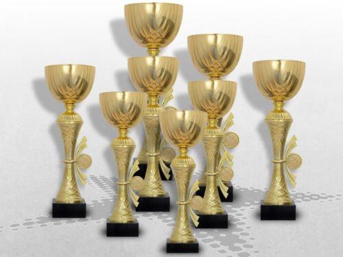 8er Pokalserie Pokale GOLDEN SKYLON inkl.Gravur Pokale ...