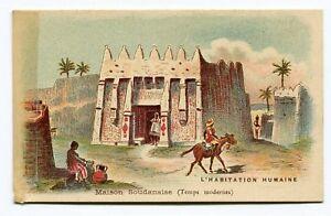 chromo maison soudanaise temps modernes