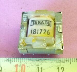 NF Audio Übertrager Transformer TEKADE 181726 Printmontage