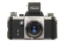 Miranda S 35mm SLR Film Camera 1:2.8 f=5cm 1959 Excellent Vintage Condition