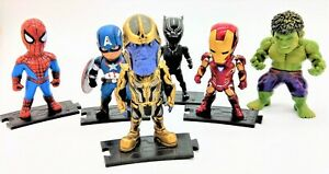 Avengers-Figuren-Iron-Man-Captain-America-Spiderman-Hulk-Black-Panther