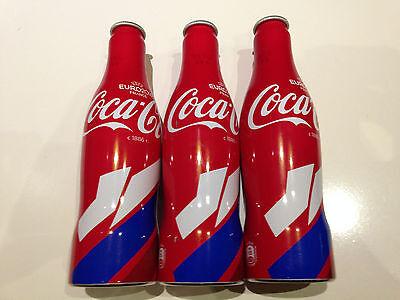 Russian Coca-Cola EURO 2016 Alu bottles set Russia