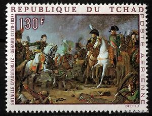 Stamp-New-Napoleon-Bonaparte-Paintings-Tchad-88M369