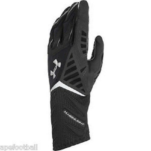 under armour nitro gloves. under armour men\u0027s ua nitro warp highlight football gloves small black   ebay nitro 2