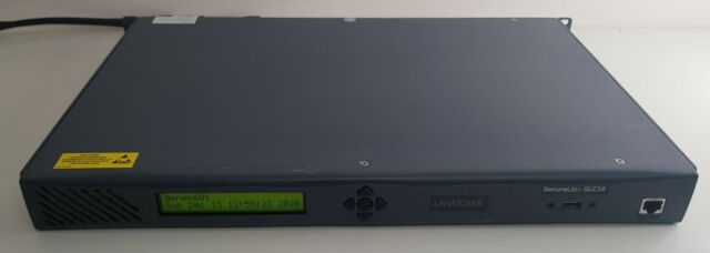 Lantronix SecureLinx SLC16 SLC01622N-03 Terminal Server 16 ports 2X PSU Ethernet