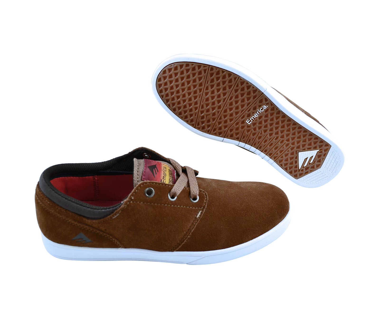 Emerica The Figueroa brown/white / Skater Sneaker/Schuhe / brown/white braun 6e5adc