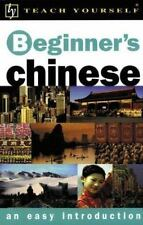 Teach Yourself Beginner's Chinese : An Easy Introduction Scurfield, Elizabeth,