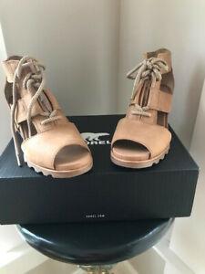 Sorel Women's Joanie Lace Wedge Sandals