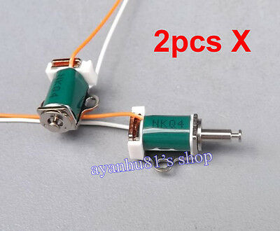 2pcs DC 5V-6V Micro Solenoid Push Pull Type Electromagnet DC Electric Magnet