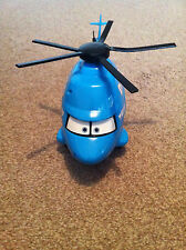 DISNEY PIXAR CARS RARE LARGE DINOCO HELICOPTER WITH SOUNDS