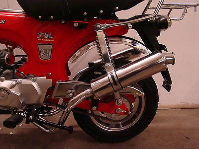 Ansaugstutzen poliert 26 mm Monkey Dax Honda Skyteam Dirtbike u.a.