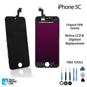 NEW-iPhone-5C-Retina-LCD-amp-Digitiser-Touch-Screen-Assembly-Original-BLACK