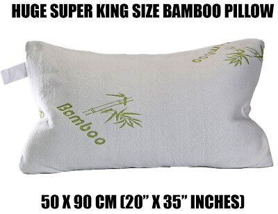 Super Extra Large In Bambù Triturati Memory Foam Cool Cuddle Cuscino Cloud Ol12 Grande- Prezzo Più Conveniente Dal Nostro Sito