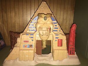 Fisher-Price-2001-Great-Adventures-Nascosto-Tesori-Egiziano-Piramide-Giochi-Htf