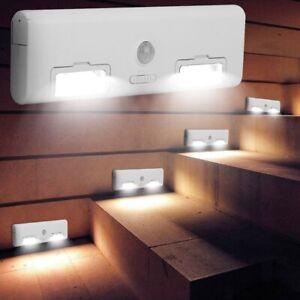 Lampe LED Treppen Leuchte NachtLicht Bewegungsmelder Sensor ...