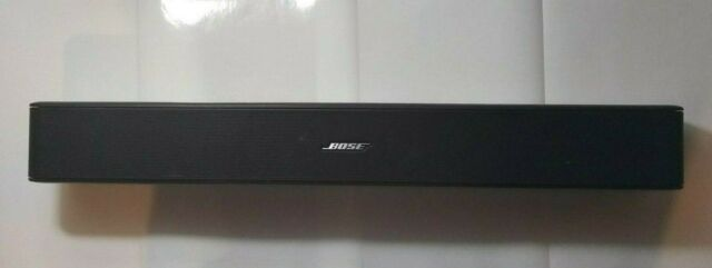 Bose Solo 5 TV Soundbar Sound System Sleek Slim Design Bluetooth Connectivity