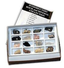 Rocks Minerals Specimens (16) & Hardness Kit (Mohs) Geology Physical Properties