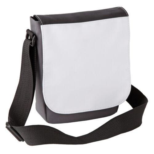 Kleiner Messenger Bag Umhängetasche Schultertasche zum bedrucken beschriften Sub