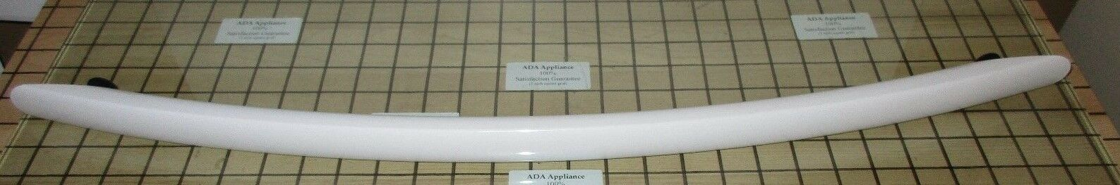 NEW Kitchen Aid Oven Door Handle- White W10284917 SATISF GUAR & Free Expd Ship