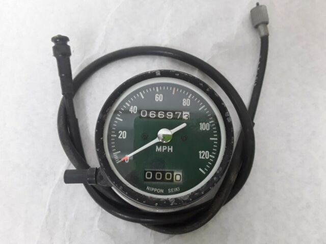 VINTAGE HONDA 500 four CB500 SPEEDO SPEEDOMETER & CABLE. ONLY 6K 71 72
