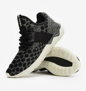 sports shoes c2262 8b843 Image is loading ADIDAS-ORIGINALS-TUBULAR-RUNNER-PRIMEKNIT-SNAKE -MENS-TRAINERS-