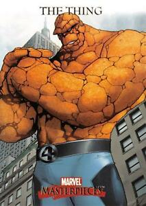 THING-2007-Marvel-Masterpieces-BASE-Trading-Card-85