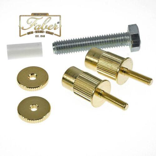 Faber Master-Kit for Epiphone Guitars w// Metric Hardware Gold Gloss Save 5/%