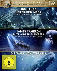 """100 anni sotto il mare"""" """"Explorers"""""""" i cetacei di Atlantis [Blu-ray] (Nuovo/Scatola Originale)"""