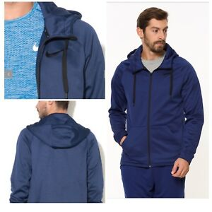 5507b5548 Nike Men's Therma Full Zip Hoodie Training Hoodie 800187-429 Binary ...